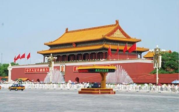 北京天安门岗亭