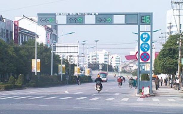 江苏昆山信号灯
