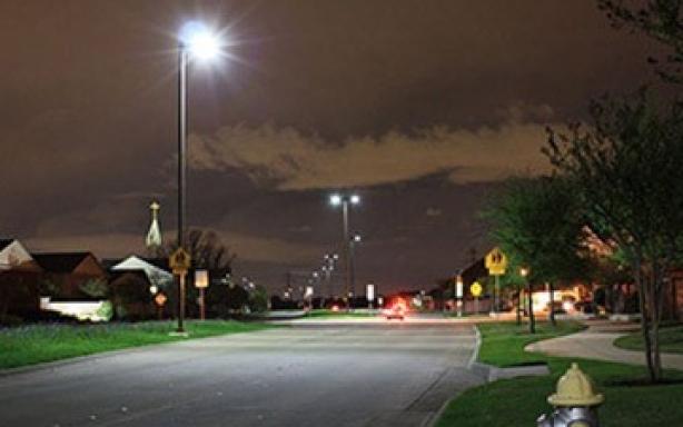 美国德克萨斯路灯