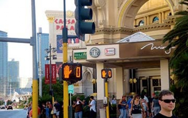 拉斯维加斯信号灯