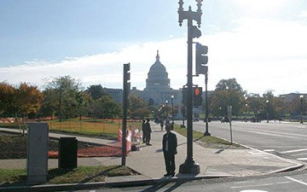 美国华盛顿信号灯